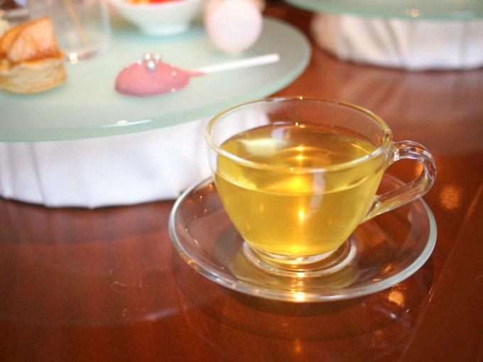 こちらは日本茶