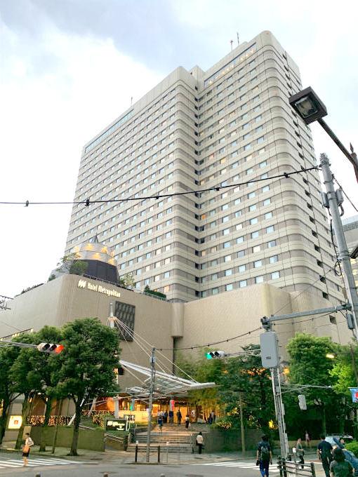 ホテルメトロポリタンの外観