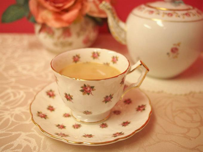 キャンディはさっぱりしているけれどミルクティーにしても美味しい紅茶です。