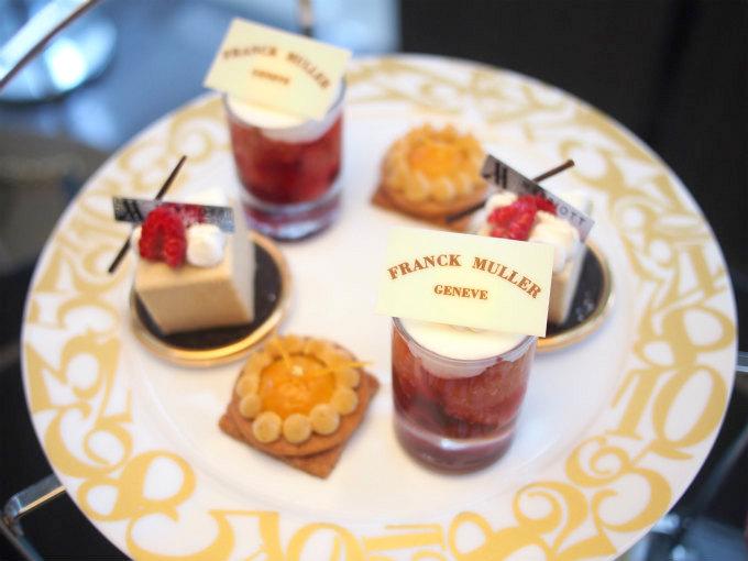 marriott franckmuller afternoontea sweets