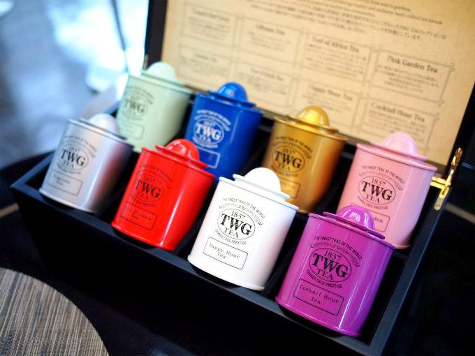 紅茶はシンガポールのTWGteaでした。