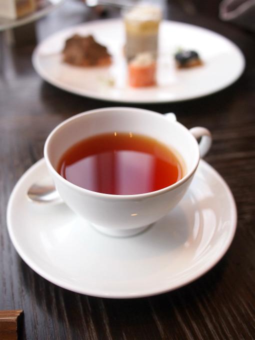 こちらはアッサム。フレーバーティーも楽しいけど、やっぱり定番の紅茶は落ち着きます。