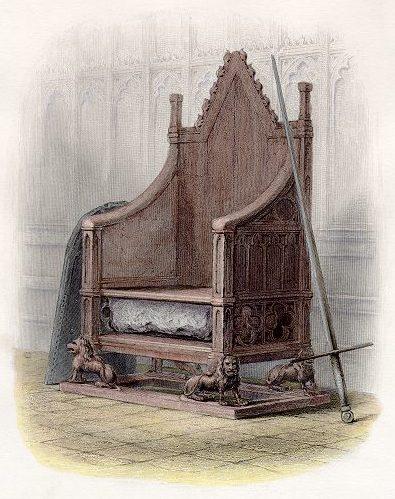 イングランド国王の椅子