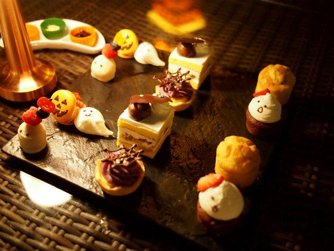 tokyo prince hightea sweets