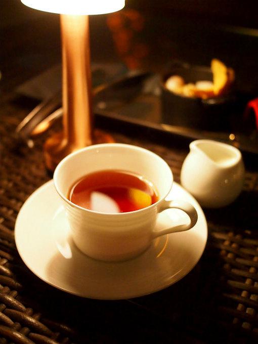 紅茶はセイロンティーでした。