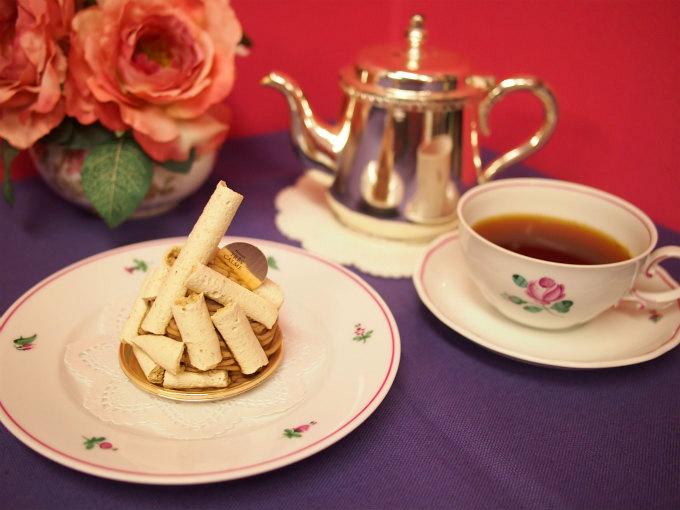 トレカルムの「モンブラン」と紅茶