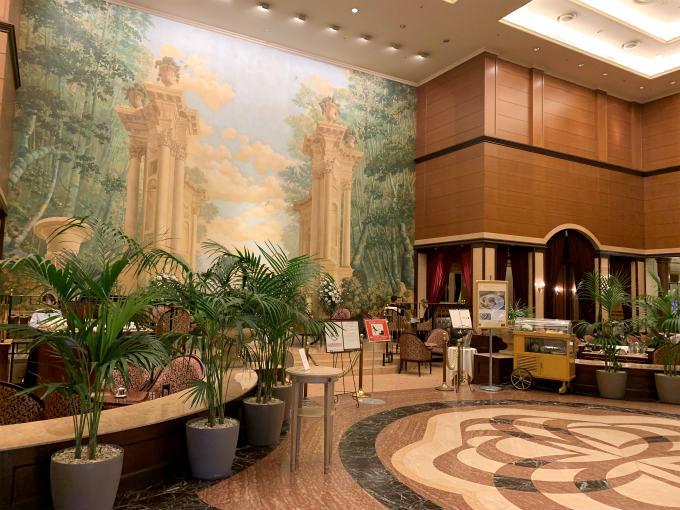 第一ホテル東京「 ロビーラウンジ」のエントランス