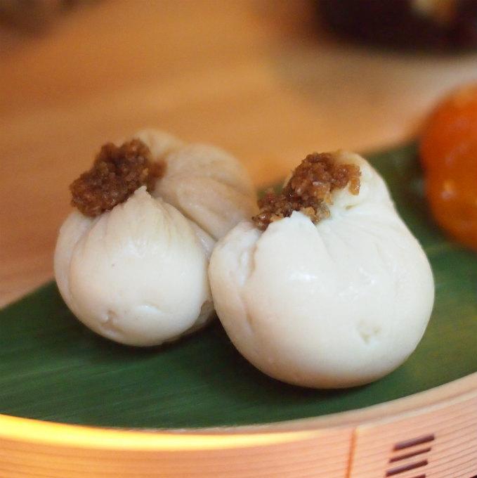 胡麻豆腐。濃厚です!