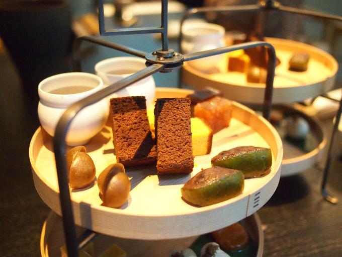 HIGASHIYA man 丸の内の和のアフタヌーンティー「茶間食」