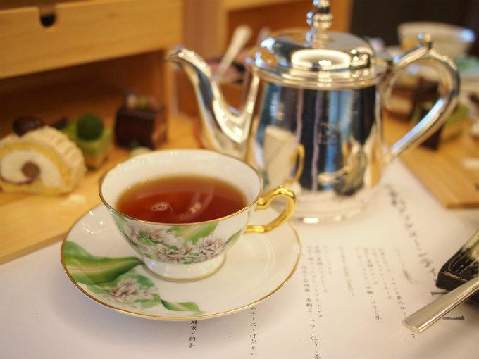和紅茶以外の紅茶はディルマーのものでした。こちらはブレックファーストブレンド