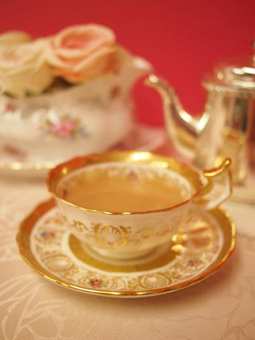 ウバはミルクティーによく合う紅茶です。