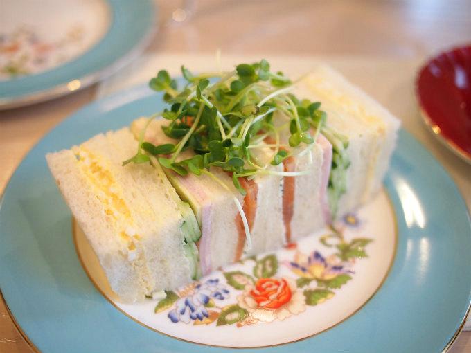 havana afternoontea sandwich
