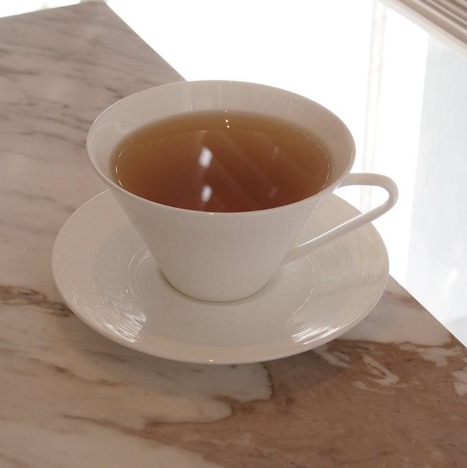 テ セレモニー  ジャスミンティーと日本の煎茶をべースとしたグリーンハーブティー