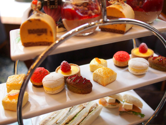 royalpark xmas afternoontea sweets