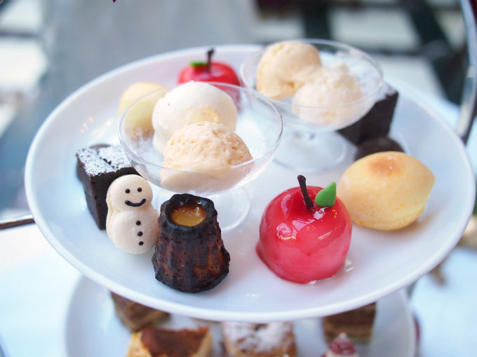 stellato xmas afternoontea dessert