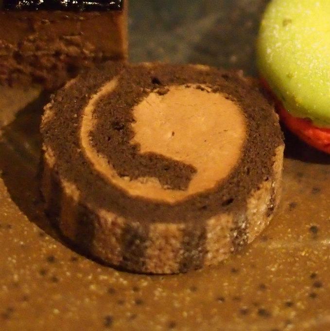 ベルギーチョコのブュッシュドノエル