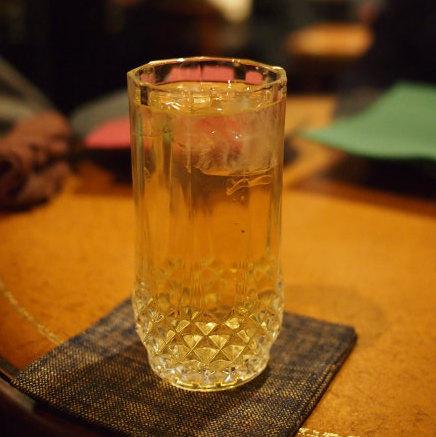 こちらは掛川茶のアイスティー