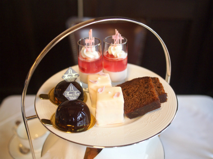 3tiers afternoontea sweets