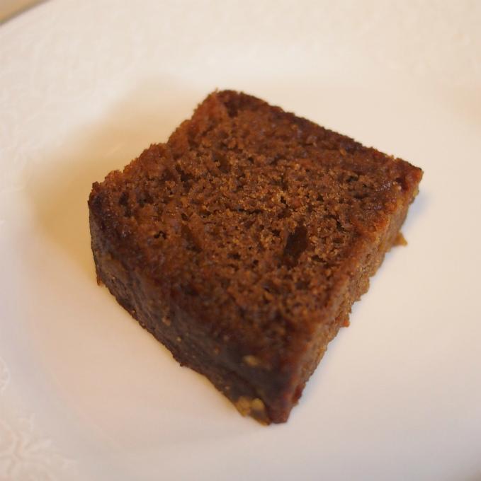 キャロット&ジンジャーケーキジンジャーが効いてて美味しかった♥