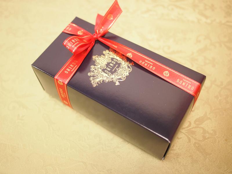歐林洞のパウンドケーキは包装も素敵です。