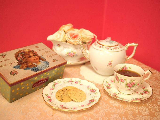 ラ・サブレジエンヌのサブレと紅茶