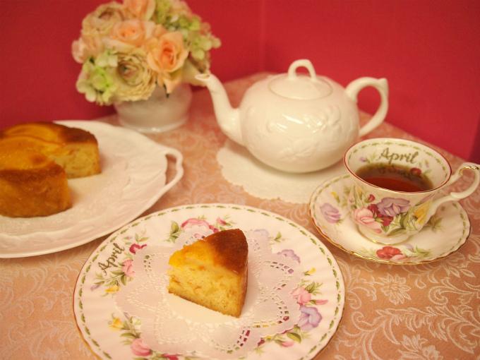 レピドールのパウンドケーキ「ウイークエンドオランジュ」と紅茶
