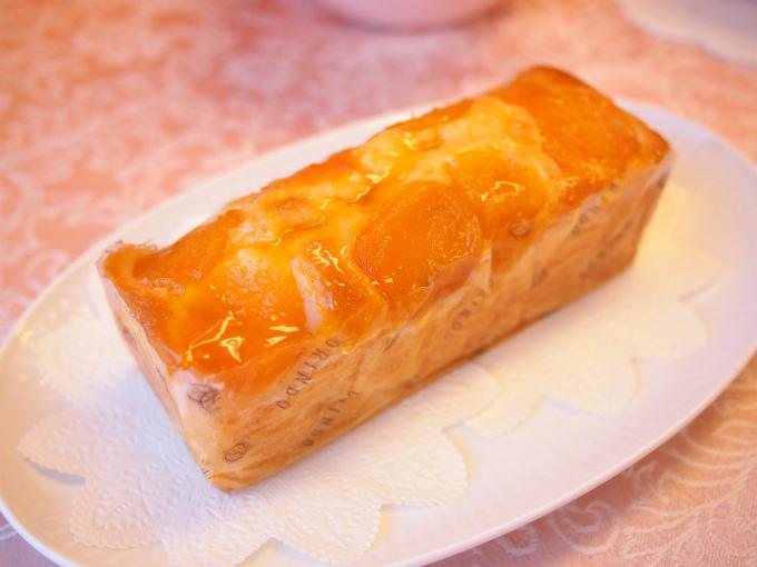 歐林洞のパウンドケーキ「アプリコット」