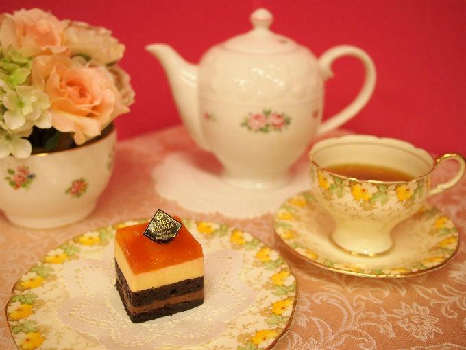 テオブロマのソレイユ テデと紅茶