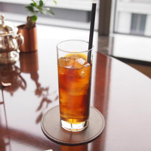 アイスティー 茶葉はシャングリラオリジナルのブレンドティーです。アールグレイではありませんでした。