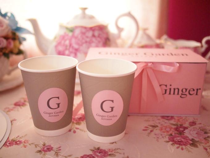 オリジナルジンジャーティーこちらはジンジャーフレーバーの紅茶ではなくて普通の紅茶でした。