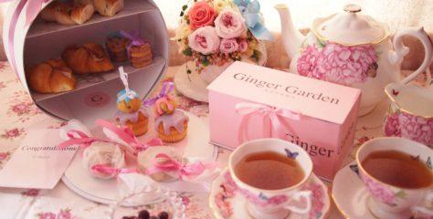 ginger garden pinkbox afternoontea01