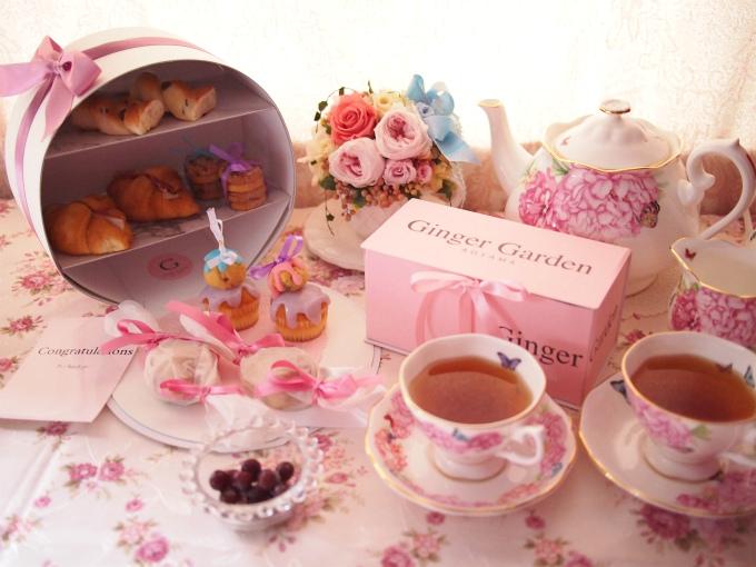 「ジンジャーガーデン青山」のお取り寄せアフタヌーンティー「GINGER GARDEN TEA PARTY BOX 」