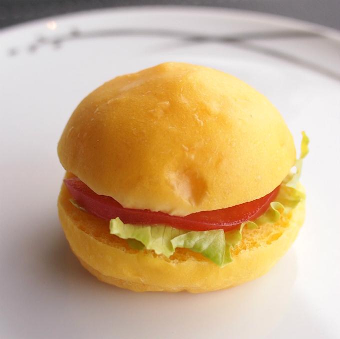 ツナのミニバンズサンドイッチ