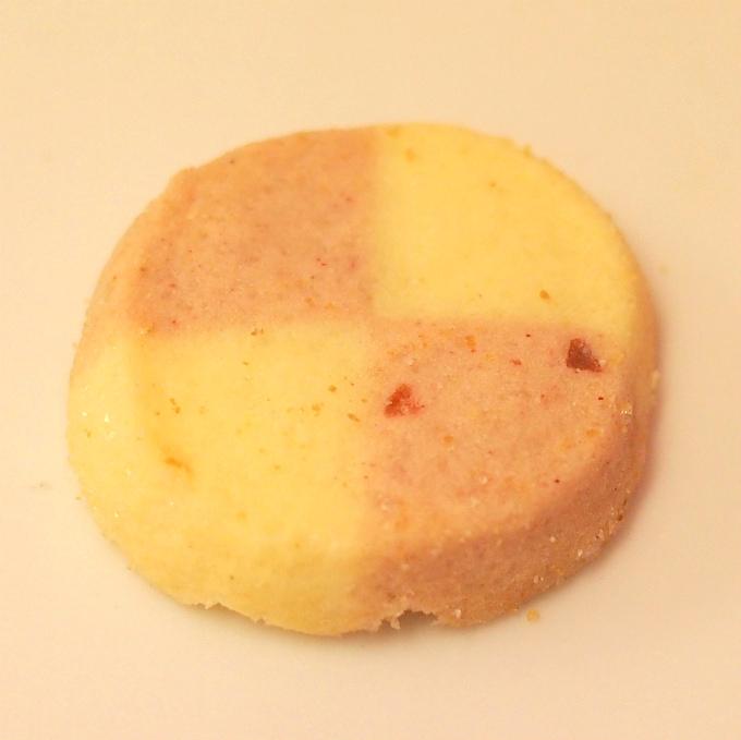 ストロベリー イチゴと練乳を使ったクッキー