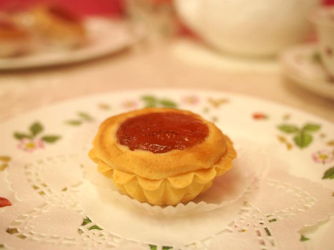 ヴィクトリアはクッキーだけど、厚みがあってドライケーキという表現がピッタリだな!と思いました。