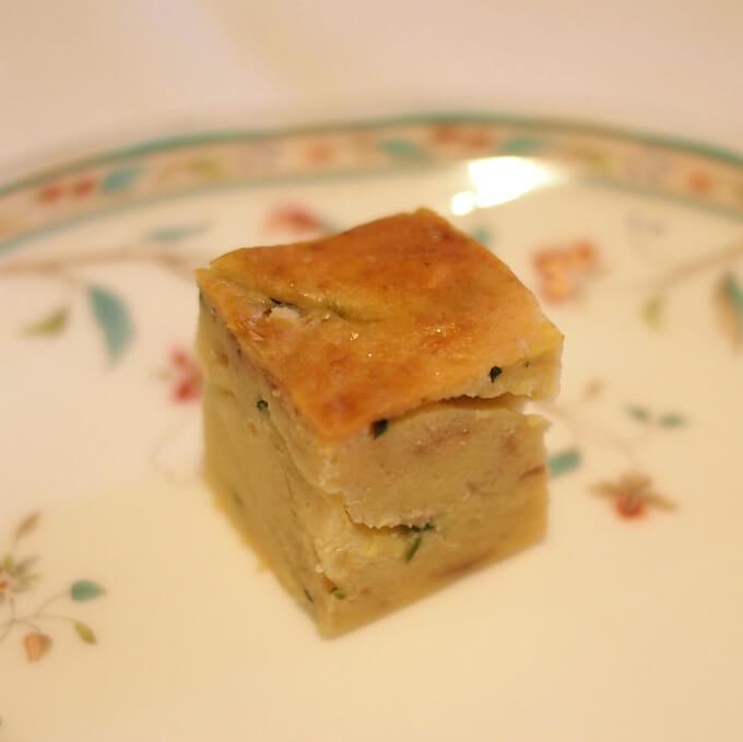 ズッキーニのケーク・サレ ケーク・サレは塩味のパウンドケーキのことです。