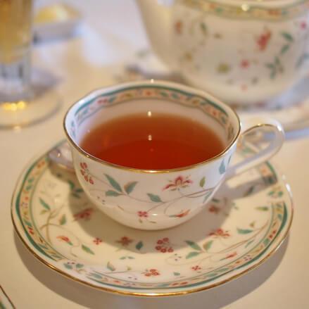 ダージリン やっぱり最後はダージリン♪食後はさっぱりしたお茶が美味しいです。