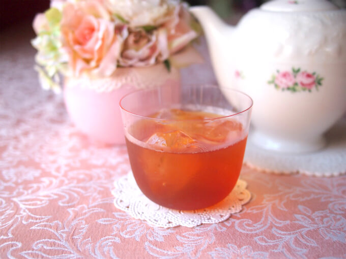 キャンディはアイスティーに向いている紅茶です。
