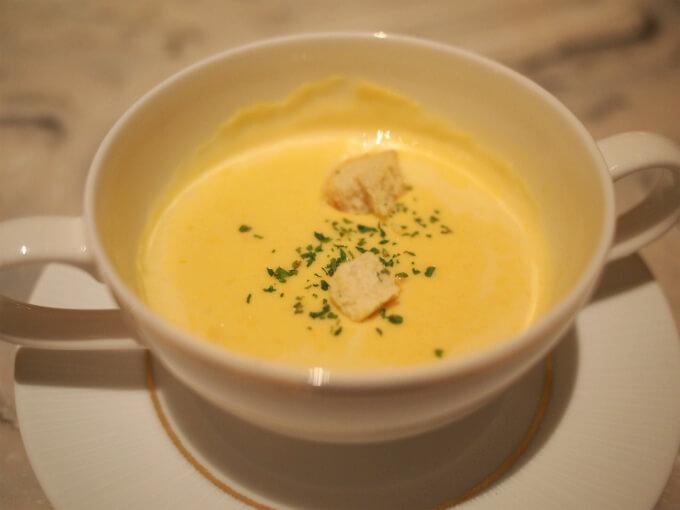 インターコンチネンタル東京ベイはスープがいつも美味しいです。