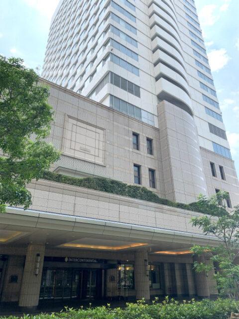 インターコンチネンタル東京ベイの外観
