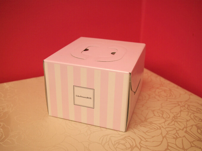 Like Sweets BOXのケーキはパッケージも可愛いです。