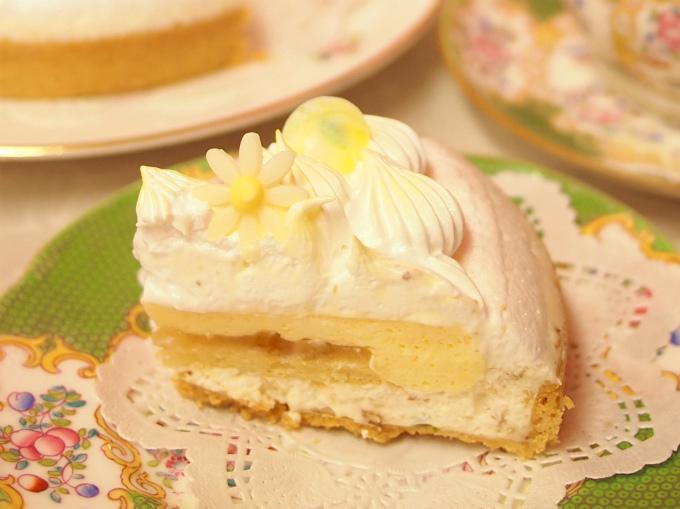 アイスケーキだけど撮影してたら溶けてきちゃいました汗