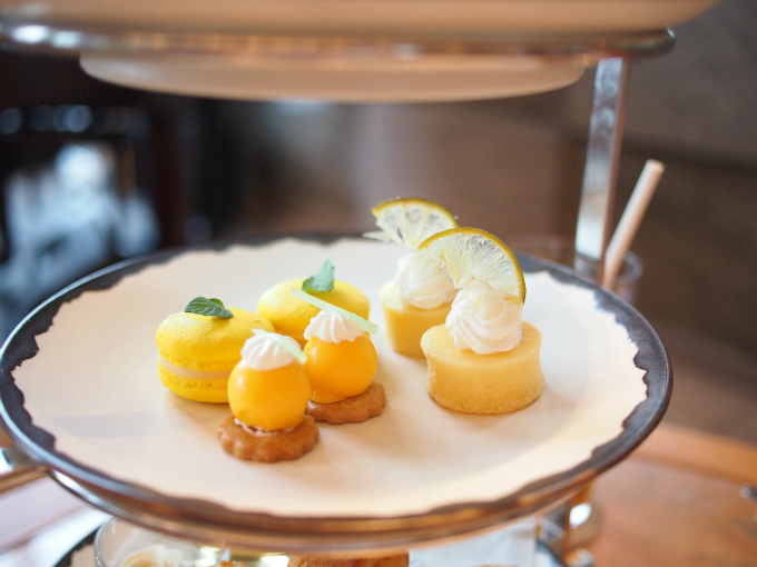 andaz lemongrass afternoontea sweets01