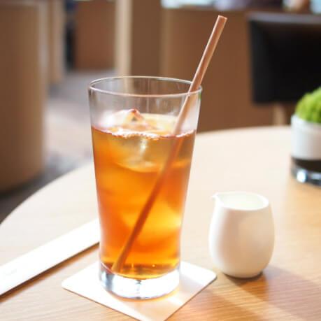 ダージリン ほとんどの紅茶がアイスティーにしてもらえます。