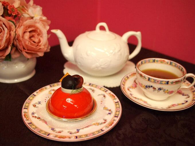 フレデリック・カッセルの「フルール・ド・シュロ」と紅茶