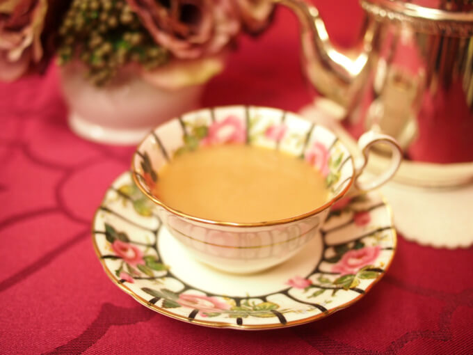 ディンブラはストレートでもミルクティーにしても美味しい紅茶。