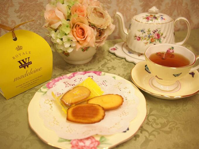 WITTAMER(ヴィタメール)のロイヤル・マドレーヌ シトロンと紅茶