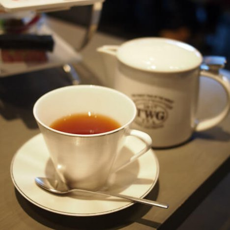 1837ブラックティー TWGを代表するフレーバーティー。ベリーやアニスに甘い香りもプラスしたフレーバーティーです。