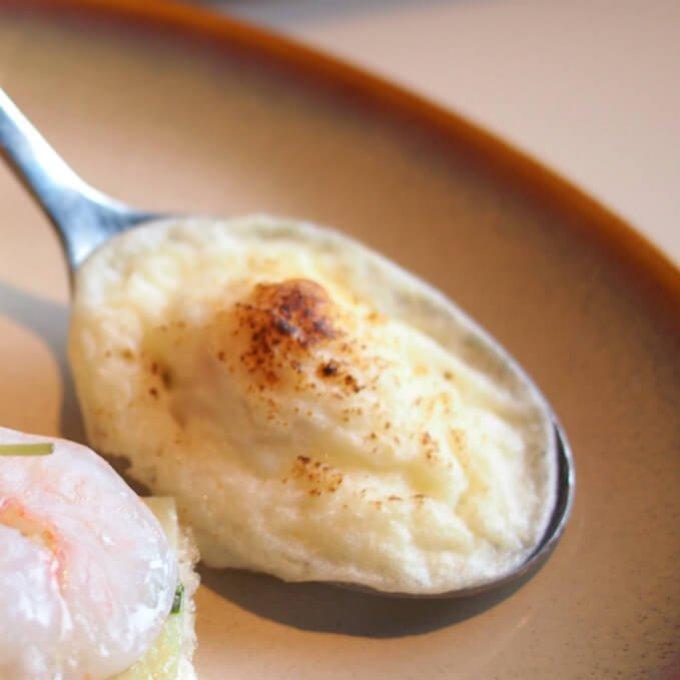 うずらの卵のパルフェ