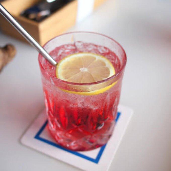 こちらは一休予約特典のノンアルコールカクテル。これも美味しかったな!